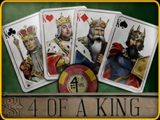 4 of a king - 4 of a King